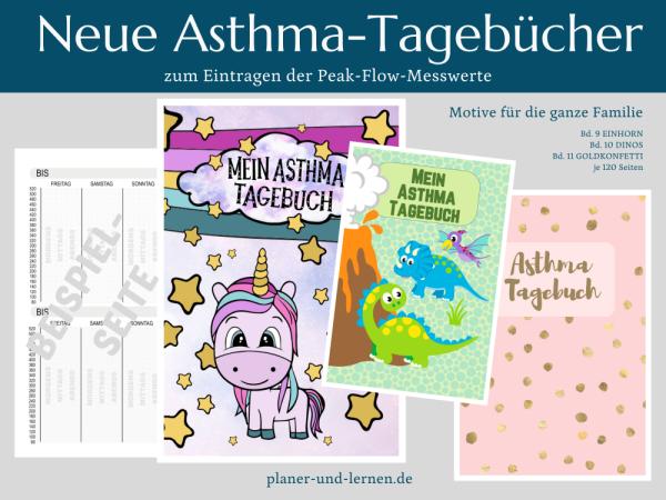 Asthmatagebücher zur Peak-Flow-Messung